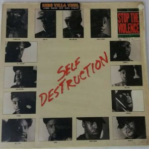 Disco  Single de Vinil - Stop The Violence - Self Destruction