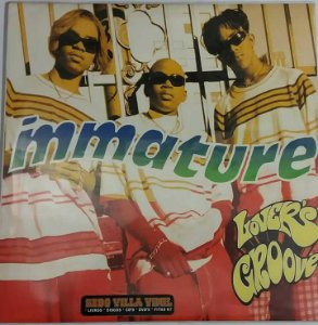 Disco  Single de Vinil - Immature - Lovers Groove