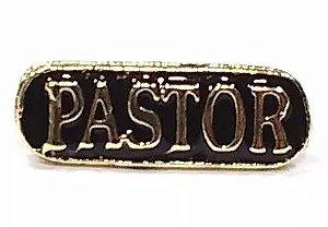 Pim Bótom Pastor Cristão Evangélico Folheado A Ouro