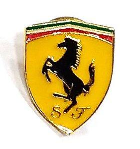 Pim Bótom Broche Pin Ferrari Folheado A Ouro De Qualidade