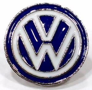 Pim Bótom Broche Pin Volkswagen Folheado À Prata De Qualidade