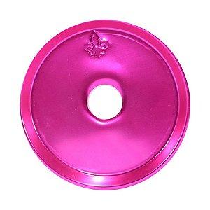PRATO PARA NARGUILE GRANDE WIRE HOOKAH ROSA PINK