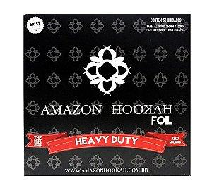 ALUMINIO AMAZON HOOKAH 50 FOLHAS