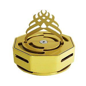 Controlador de Calor Marajah Octagon- Dourado