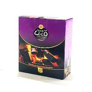 Carvão Forever Coco Hexagonal - 500g