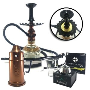 Narguile Lord Amazon Hookah Kit Bronze- Mangueira Lavável
