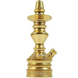 Stem Narguile Empire Hookah King - Dourado