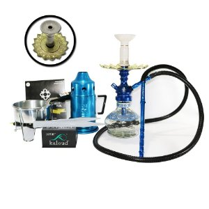 Narguile Anubis Hookah Kit completo - Azul
