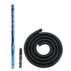 Mangueira Blackhose Lavável - Preta/ Azul Metalizado