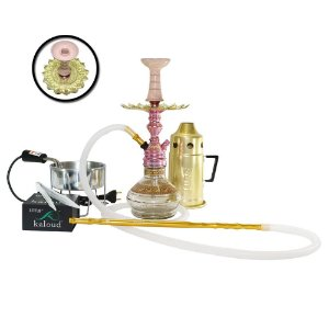 Narguile Completo Empire Hookah King Kit- Rose
