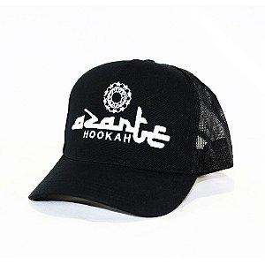Boné Personalizado Azarte Hookah- Preto