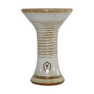 Rosh Queimador Narguile Ivi Bowl Magic - Creme