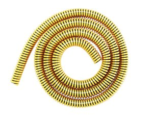 Mangueira Anti Chamas Amazon Flex - Preto Espiral Dourado