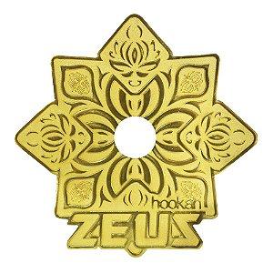PRATO ZEUS HOOKAH GRANDE- Dourado