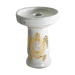 Rosh Beta Bowl  - Tartaruga Gold - Branco