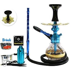 Narguile Triton Zip Kit Completo- Azul