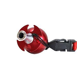 Piteira Higiênica Sorrilha -  Vermelho  Quatro Furos