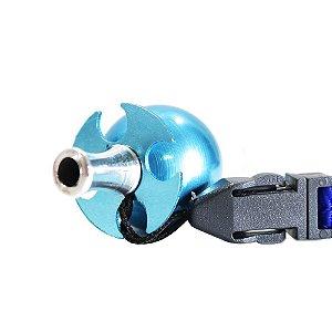 Piteira Higiênica Sorrilha -  Azul Quatro Furos