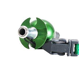 Piteira Higiênica Sorrilha -  Verde Dois Furos