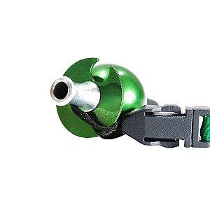 Piteira Higiênica Sorrilha -  Verde Um Furo