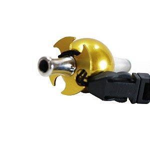 Piteira Higiênica Sorrilha -  Dourado Quatro Furos