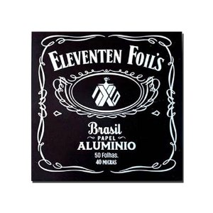 Alumínio Eleventen Foils 50 Folhas