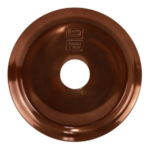 Prato Black Hookah Simples Médio  - Bronze