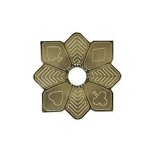 Prato Zenith Flush Pequeno - Dourado