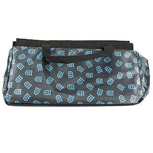 Bolsa Para Narguile AV Hookah - Preto/Azul