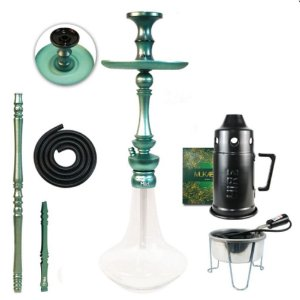Narguile Sultan Miid  Completo Kit - Teal Blue