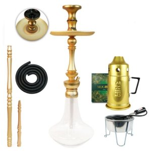 Narguile Sultan Miid Completo Kit-  Champagne