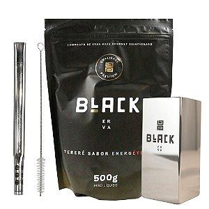 Kit Terere Black Hookah - Energético