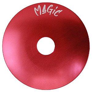 Prato Pequeno Magic Hookah Liso- Vermelho