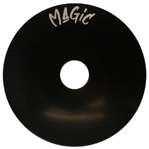 Prato Pequeno Magic Hookah Liso- Preto