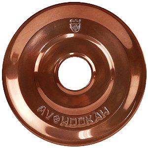Prato Médio Av Hookah - Bronze