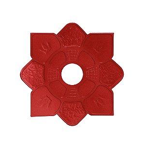 Prato Mini Imperial Hookah King - Vermelho
