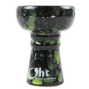 Rosh Queimador Oht New Classic - Preto Com Verde
