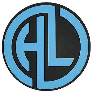 Tapete Base Protetora para Narguile  HOOKAH LIKE - Azul e preto
