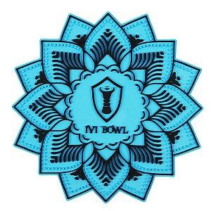 TAPETE BASE PROTETORA IVI BOWL - Azul com Preto