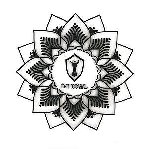 TAPETE BASE PROTETORA IVI BOWL - Branco com preto