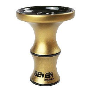 ROSH QUEIMADOR SEVEN HOOKAH  Premium Edition - Dourado Envelhecido