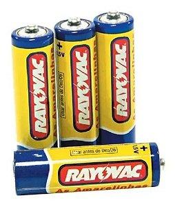 Pilha AA pack com 4 unidades - Rayovac