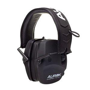 Abafador eletrônico Whisper premium com bluetooth preto - Aurok