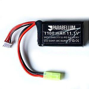 Bateria Lipo 11.1v/1100mah 3s - Parabellum