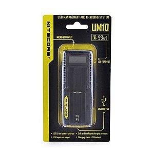 Carregador inteligente UM10 - Nitecore