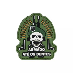 Patch Caveira - Br Force