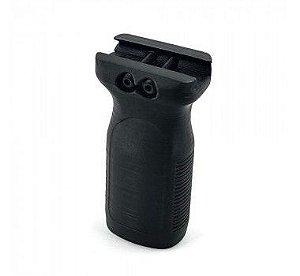 Grip Vertical Médio 9cm  Picatinny em  ABS  3D - Beegear