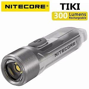 Chaveiro luz USB recarregável Futurista - Nitecore