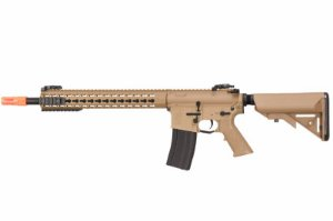 RIFLE AIRSOFT ECHO1 - KINGHT'S ARMAMENT SR-16E3 TAN- 6MM
