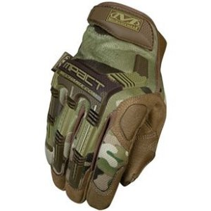 LUVA MECHANIX M-PACT EMBORRACHADA - MULTICAM